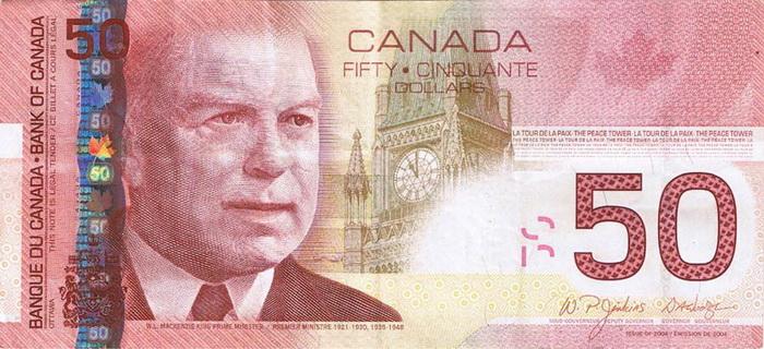 Деньги страны канада